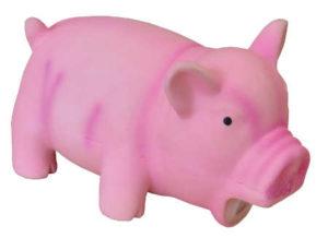 Hundespielzeug rosa Schwein